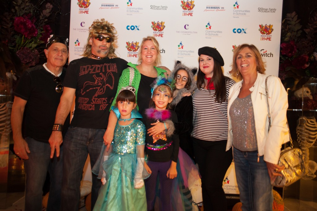 Board member Leslie Maple and trick or treaters