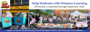 Fill the Bus Supply Drive